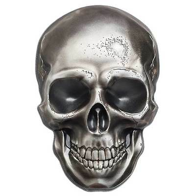 CIT 2016 Skull No 1 – 1oz Antiqued Finish Silver Coin