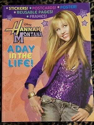 Hannah Montana A Day in the Life Sticker Activity Book Disney
