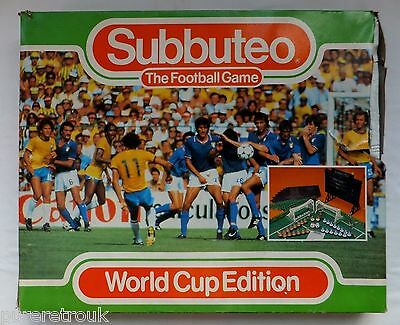 Waddingtons World Cup Subbuteo Set + Score Board Fencing But Missing W Germany