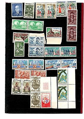 Tunisia stamps x49 all mint