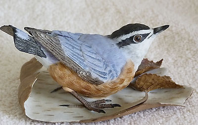 Lenox Fine Porcelain Garden Bird Collection Red-breasted Nuthatch