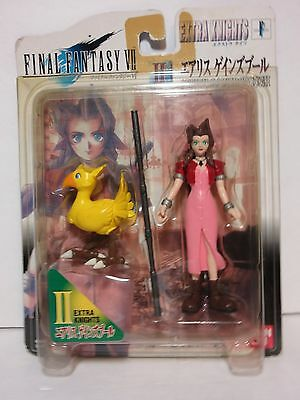 "Final Fantasy 7 VII Aerith Aeris 4.5 "" Action Figure Mint Bandai Extra Knights"