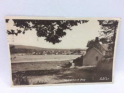 Red Wharf Bay Anglesey Wales Real Picture Postcard Vintage