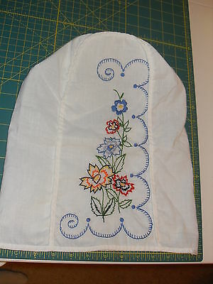 Vintage Bread Cover: Embroidery Flowers