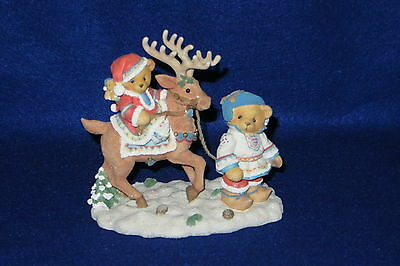 """sven And Liv"" Enesco Cherished Teddies #272159 - Mib"