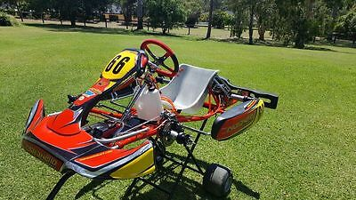 Maranello RS10 Shifter kart rolling chassis suit kz2 super karting tag CRG gbox