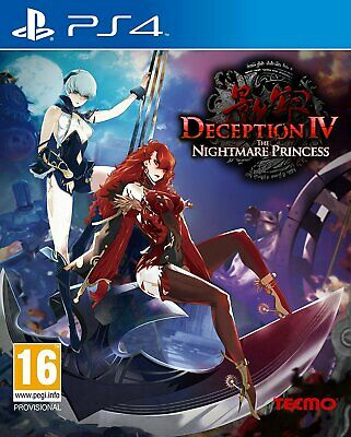 Deception IV 4 : The Nightmare Princess PS4 | PlayStation 4 - New Game