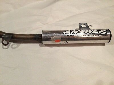 1992 YZ250 Answer RS2 Silencer NOS