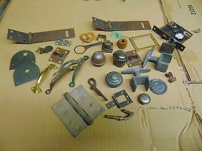 Vintage Large Lot of Misc. Hardware Window, Door, And Latches