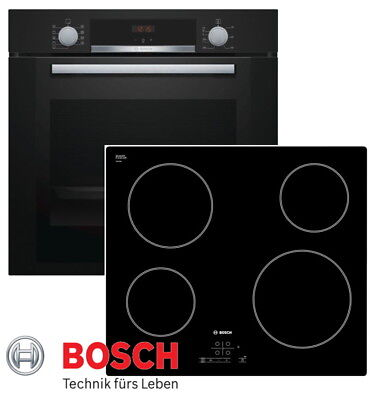 bosch herd ofen herdset autark backofen schwarz glaskeramik kochfeld rahmenlos eur 605 00. Black Bedroom Furniture Sets. Home Design Ideas