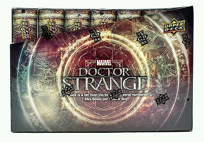 MARVEL DOCTOR STRANGE TRADING CARDS BOX ***UPPER DECK 2016**** 7 Mini box set