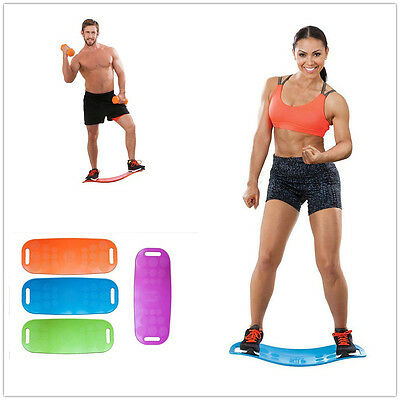 Fit Balance Board Abs Legs Core Workout Sport Yoga Balance Trainer Fitness New