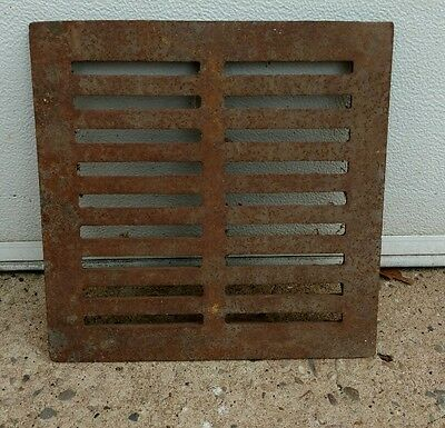 vintage cast iron air vent heating grate