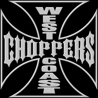 West Coast Choppers XL ecusson brodé patche Thermocollant iron-on patch