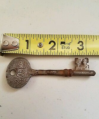 Vtg Antique Old Russwin Skeleton Key #1
