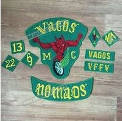 Vagos Motorcycle Club, 1%er, Bandidos , Mongols , Red Devils, Outlaw Biker