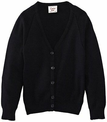 Blu (Navy blue) (TG. C46 IN- UK) Charles Kirk Coolflow - Cardigan, unisex, Blu (