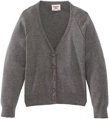 Grigio (Medium Grey) (TG. C44 IN- UK) Charles Kirk Coolflow - Cardigan, unisex,