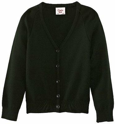 Verde (Bottle Green) (TG. C32 IN- UK) Charles Kirk Coolflow - Cardigan, unisex,