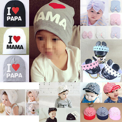 Toddler Kids Baby Boy Girl Infant Cotton Beret Baseball Hat Cap Cute Sun Cap