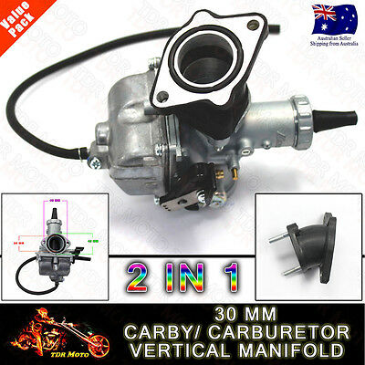 MIKUNI 30mm Rracing Caburetor CARBY 125/200/250cc Pit Dirt bike Quad Atomik ATV