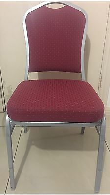 66 Banquet Wedding,Church,Club, Funeral, Reception, Conference Stackable Chairs