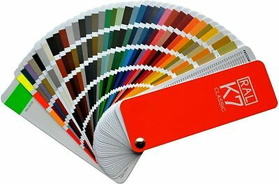 RAL K7 Classic Colour Chart New RAL Fan Style Guide 213 Colours