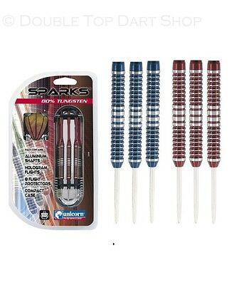 Unicorn Sparks 80% Tungsten Steel Tip Darts