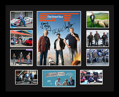 New The Grand Tour Signed Limited Edition Memorabilia Framed