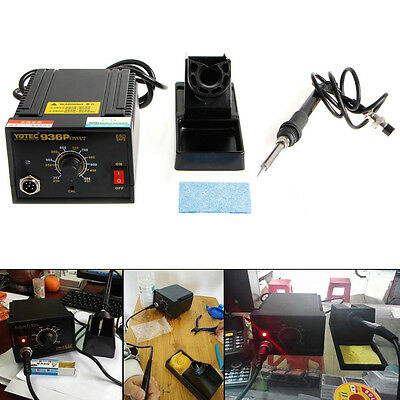 220V 110V 936Power Electric Soldering Station SMD Rework Welding Iron With Stand