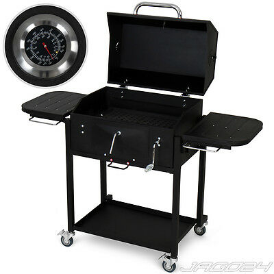Barbecue a carbone bbq legna barbecue griglia grill a carbone con carrello