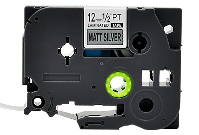 TZe-M931 Black on Matt Silver TZ-931 Compatible Brother P-Touch Label Tape 12mm