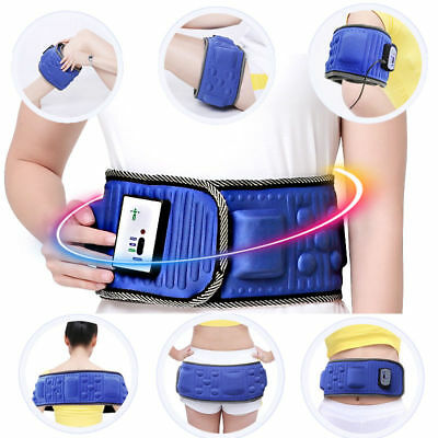 Electric Body Slimming Belt Vibra Vibration Loss Weight Muscle Relax Massager AU