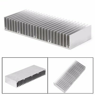 1Pc Radiator Aluminum Heatsink Extruded Profile Heat Sink for Electronic Chipset