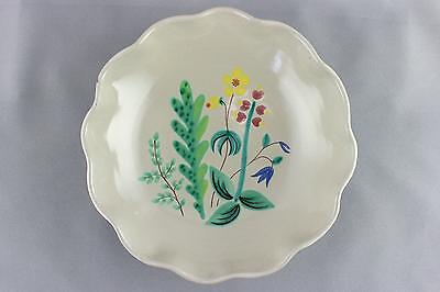 An Anna Lisa Thomson floral 'Angsblom' bowl for Upsala Ekeby. Swedish
