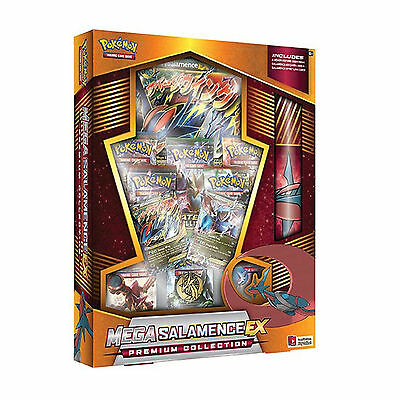 Pokemon: Mega Salamence EX Premium Collection Box: Booster Packs + Promo Cards