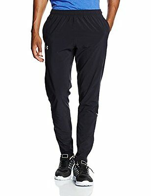 (TG. XL) nero - nero Nobreaks Under Armour-Pantaloni da corsa da uomo, colore: n