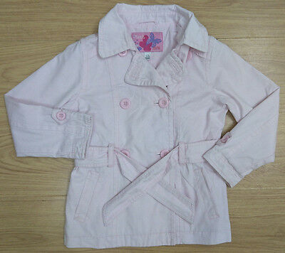 Next Girls Pink Belted Jacket Age 7-8 Years