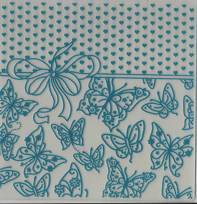 Crafter's Companion Embossalicious Embossing Folder  Buterfly Love