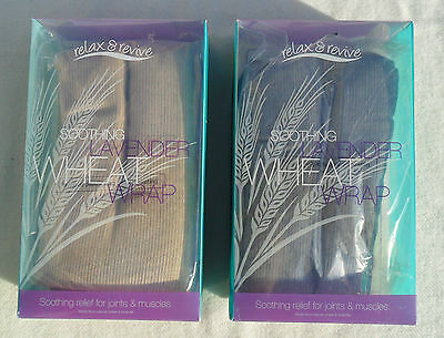SOOTHING AROMATHERAPY LAVENDER WHEAT WRAP -BEIGE relief for ARTHRITIS/JOINT/Musc