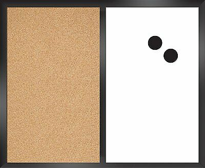 """The Board Dudes CYH10 18"""" x 22"""" Magnetic Dry Erase/Cork Combo Board"""