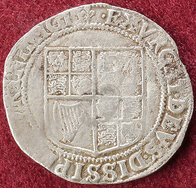 GB Shilling 1604-05 King James I First Coinage mm.Lis (C2210)
