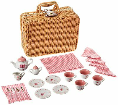 Schylling BYTSB Butterfly Tea Set Basket