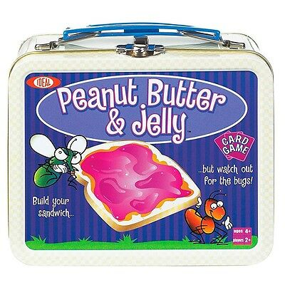 Ideal Games Peanut Butter and Jelly Card Game with 54-Cards For Ages 4+ Kids New
