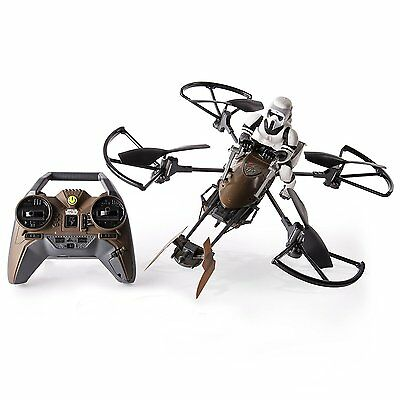 Air Hogs Star Wars Speeder Bike Remote Controlled Drone Range Up To A 200ft New