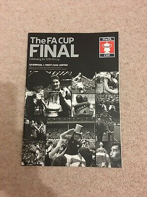 The F.A. Cup 2006 Official Programme Liverpool vs West Ham United