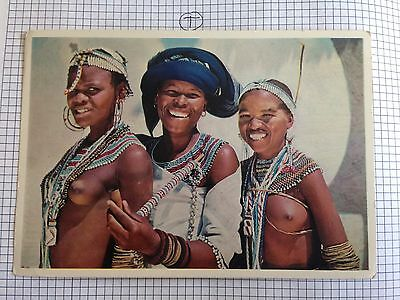 South Africa Happy Xhosa Women Postcard