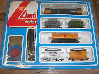 Lima Freight Train Set with Additional Track, Points and extra wagons