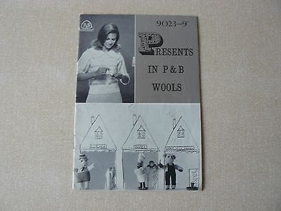 Rare Vintage Old Patons & Beehive Knitting Pattern