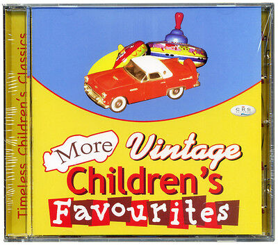 More Vintage Children's Favourites CD   Kids well loved songs *NEW & WRAPPED*